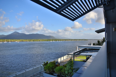 Cairns Holiday Apartments overlooking Cairns Inlet in the heart of Cairns CBD