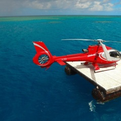 Cairns Luxury Reef Trips - Helicopter Flights to the Reef
