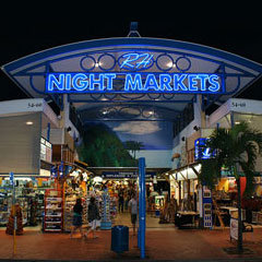 Cairns Night Markets Shopping Mall