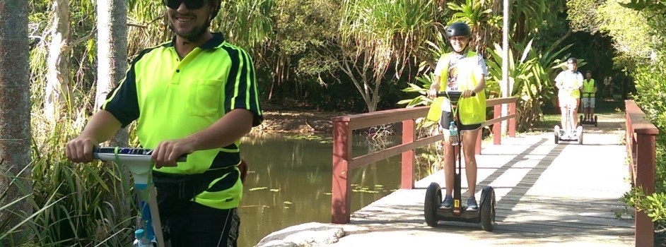 Cairns Ninebot Tours | Personalised Cairns Sightseeing Tour