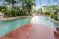 1 of 3 Swimming Pools - Cairns North Shore Towers Private Apartment