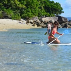Cairns Private Boat Charter | Stand Up Paddle Board Fitzroy Island
