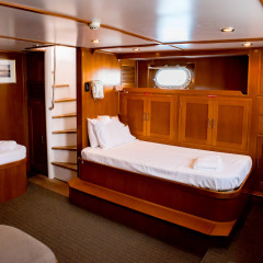Cairns Private Charter Boat - Aft Cabin