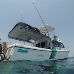 Cairns private charter boat full & half day charters