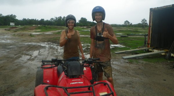 Cairns quad bike and ATV tours are great for groups