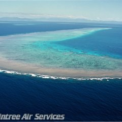 Cairns scenic flights - Aerial View of the Great Barrier Reef