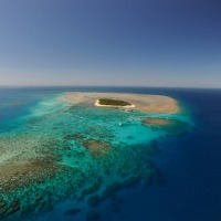 Cairns Scenic Flights - Helicopter over Green Island