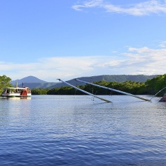 Calm Water River Cruise Port Douglas | Historical Shipwreck In Dickson Inlet