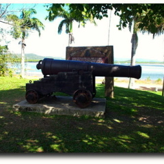 Cannon from the HMB Endeavour - 3 Day Cooktown 4WD Tour