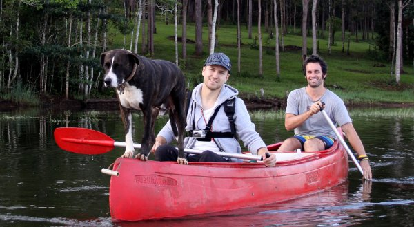 Canoeing On Lake Tinaroo