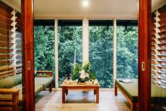Canopy Bayan with Balcony Lounge to enjoy the rainforest views - Daintree Eco Lodge