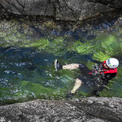 Canyoning Behana Gorge