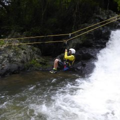 Canyoning Zipline - Cairns Combo Tour