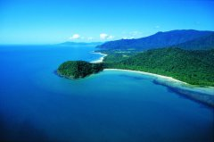Aerial View Cape Tribulation