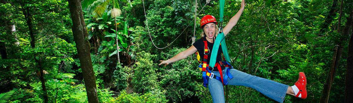 Cape Tribulation Daintree & Jungle Surfing Zip Line