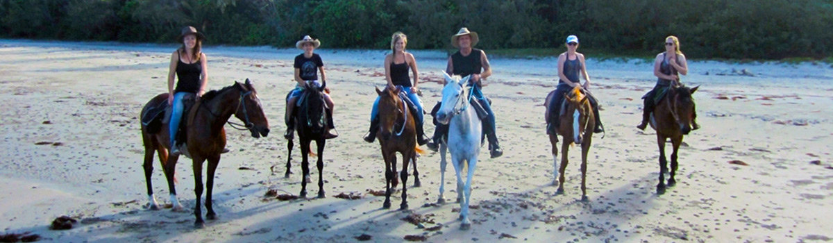 Beach Horse Rides Cape Tribulation