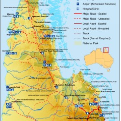 Cape York Map | 11 Day Safari To The Tip Of Australia