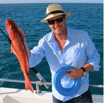 Catch a fish whilst on your private charter boat on the Great Barrier Reef in Australia
