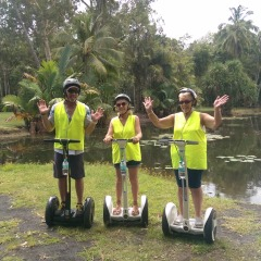 Centenary Lakes Cairns Tropical North Queensland | Small Group Ninebot Tour