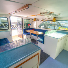 Charter Boats Cairns - Saloon