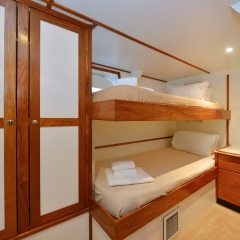 Charter Boats Cairns - Twin Beds