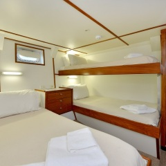 Charter Boats Cairns Twin & Double Cabin