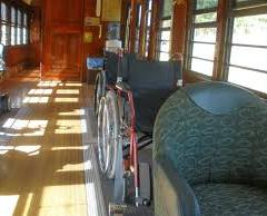 Kuranda Train carrigages for those in Wheelchairs