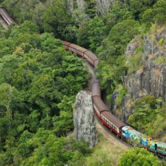 Choose a Kuranda Train + Hot Air Balloon Combo