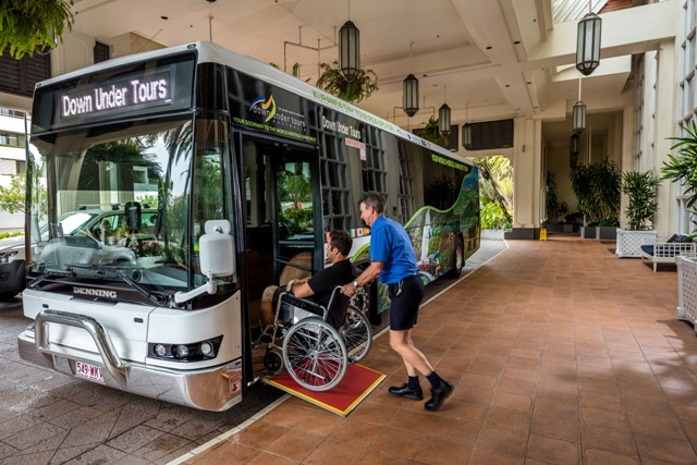 Coach Wheelchair Access