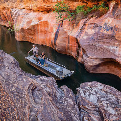 Cobbold Gorge cruise
