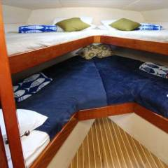 Comfortable Private Overnight Charter Boat | Air Conditioned Cabin