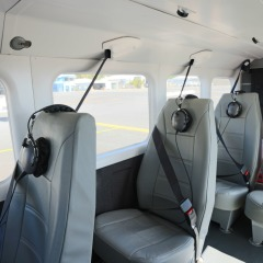 Comfortable seats on Cairns scenic flights