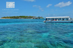 Complimentary Glass Bottom Boat Tour for Guests of Green Island Resort