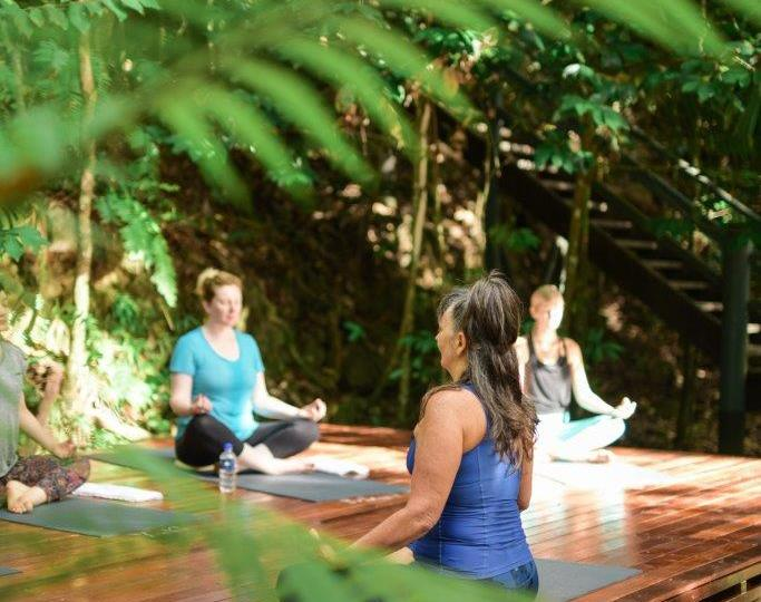 Complimentary Yoga Classes - Silky Oaks Lodge