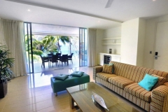 Condominium Living Area with Beachfront Views - Drift Apartments Palm Cove