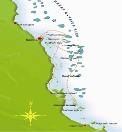 Coral Princess Cruises map