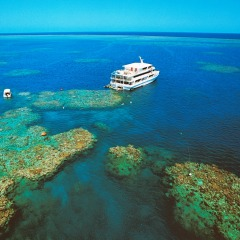 Coral Princess on the Great Barrier Reef