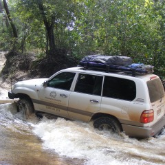 Creek Crossings - Cairns to Cape York 4WD Tour