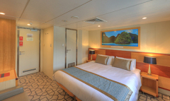 Cruises Great Barrier Reef- 7 Nights - Promenade Deck - Stateroom - B