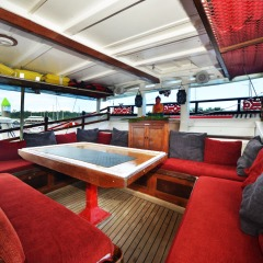 Cairns Harbour Cruise - Comfortable Vessel with Indoor Saloon