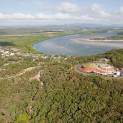 Day Trip To Cooktown Tropical North Queensland - Aerial View