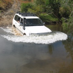 Deep Creek Crossing Cairns to Cape York 4WD Tour