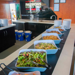 Delicious Buffet Salads for Lunch - Cairns Reef Tour