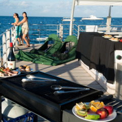 Delicious Dinner Cooked On Board By Your Hosts | Sleep On The Reef Cairns