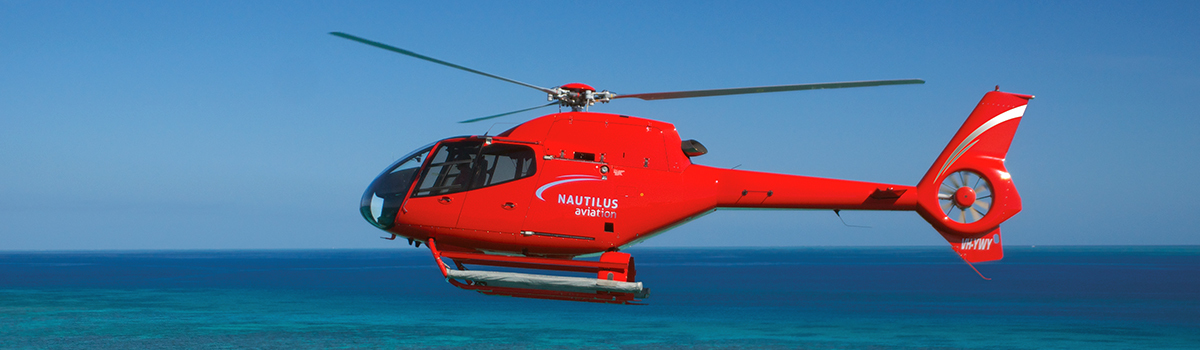 Deluxe Great Barrier Reef & Rainforest Scenic Helicopter flight From Cairns