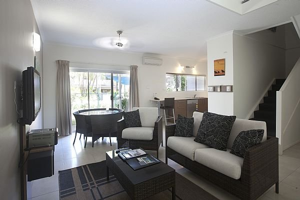 Two Bedroom Coral Villas - Spacious Downstairs living with Bedrooms upstairs