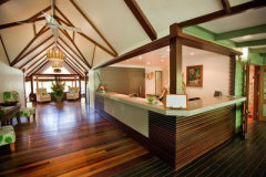 Designed to blend in with the World Heritage listed Daintree Rainforest surroundings
