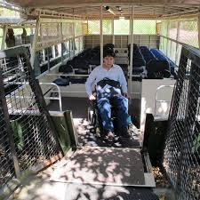 Disabled access on the Lagoon Crocodile Cruise