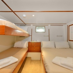 Dive Charters Cairns - Double and Twin Cabin