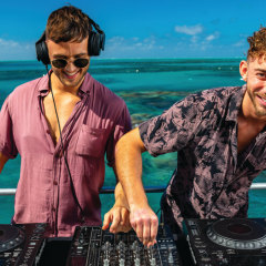 DJ's are a favourite for weddings and christmas parties on the Great Barrier Reef